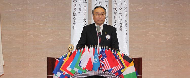 会長 L.外山恵市