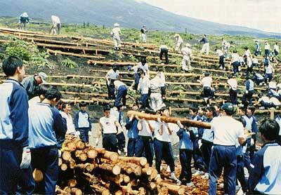 1999年6月2日(水)富士山五合目にて
